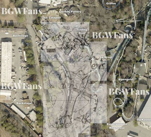 Busch Gardens Williamsburg 2017 Stitched Composite Site Plan