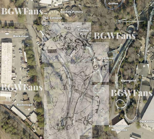 Busch Gardens Williamsburg 2017 Stitched Composite Site Plan