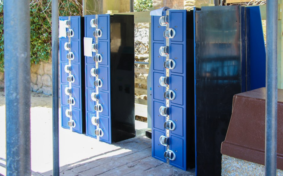 New Escape from Pompeii Lockers