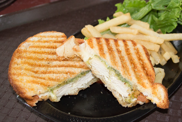 Marco Polo's Marketplace Pesto Chicken Panini