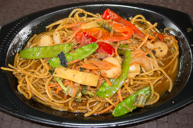 Marco Polo's Marketplace Vegetable Lo Mein