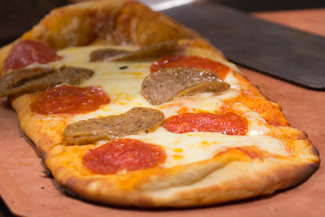 Marco Polo's Marketplace Sausage & Pepperoni Artisan Flatbread