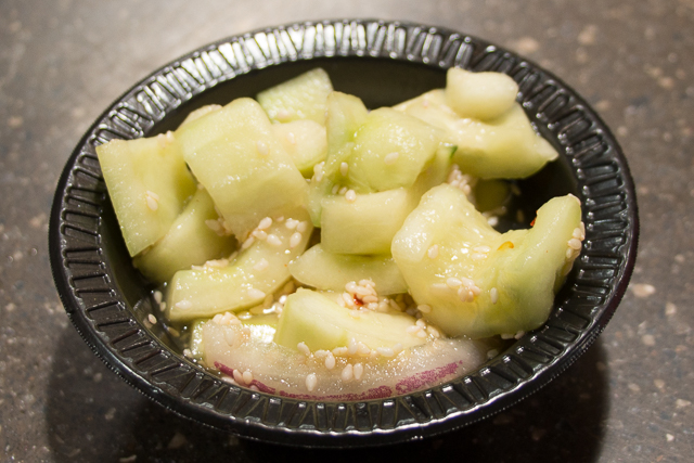 Marco Polo's Marketplace Cucumber Salad