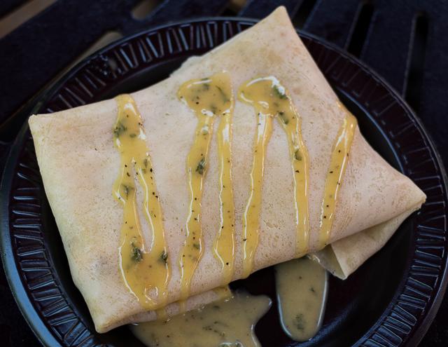Busch Gardens Williamsburg Food and Wine Festival 2016 Poulet Cordon Bleu Crêpe