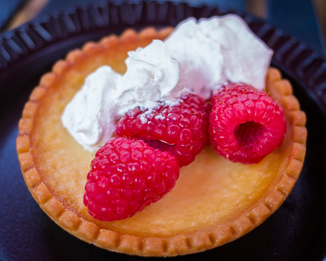 Busch Gardens Williamsburg Food and Wine Festival 2016 Tartelette au Citron