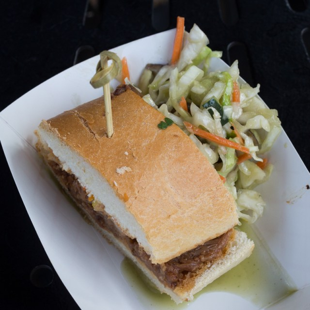 Busch Gardens Williamsburg Food and Wine Festival 2017 Bánh Mì