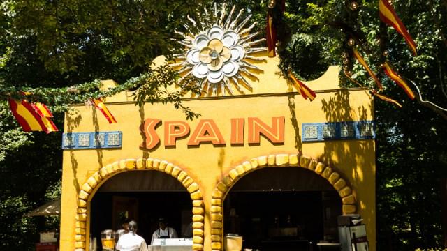 Busch Gardens Williamsburg Food and Wine Festival 2017 Spain