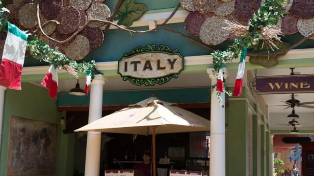 Busch Gardens Williamsburg Food and Wine Festival 2017 Italy
