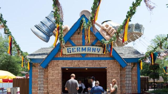 Busch Gardens Williamsburg Food and Wine Festival 2017 Germany
