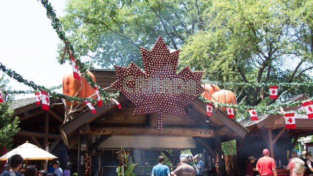 Busch Gardens Williamsburg Food and Wine Festival 2017 Canada