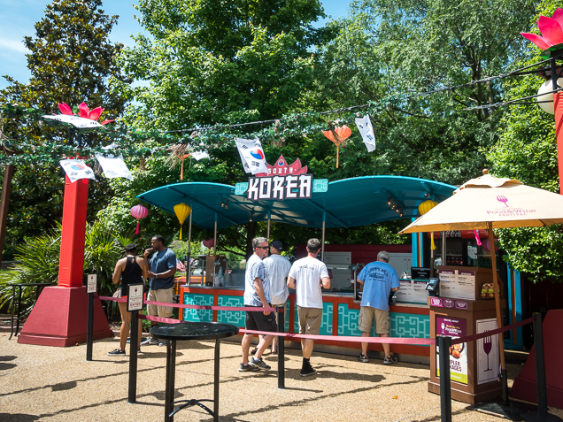 Busch Gardens Williamsburg Food and Wine Festival 2018 South Korea