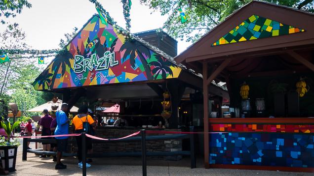 Busch Gardens Williamsburg Food and Wine Festival 2018 Brazil