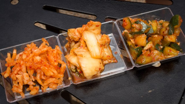 Busch Gardens Williamsburg Food and Wine Festival 2017 Kimchi Sampler