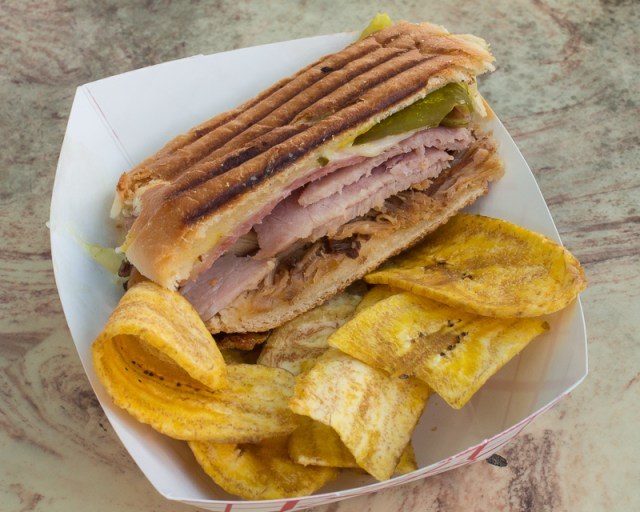 Busch Gardens Williamsburg Food and Wine Festival 2017 Cuban Sandwich