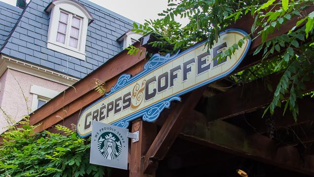 Busch Gardens Williamsburg Food and Wine Festival 2018 Crêpes & Coffee