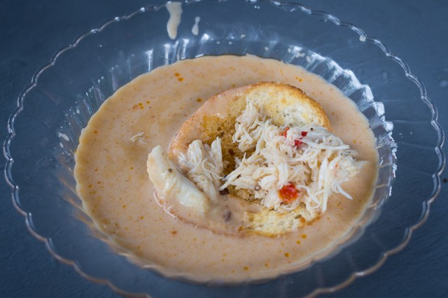 Busch Gardens Williamsburg Food and Wine Festival 2017 She-Crab Soup