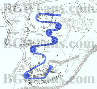 Site Plan with Slide Highlight