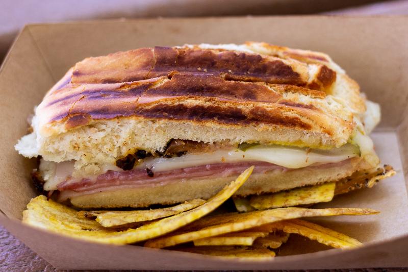 Busch Gardens Williamsburg Food and Wine Festival 2019 Cuban Sandwich