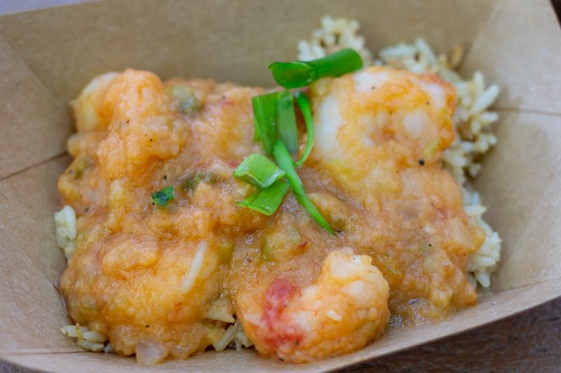 Busch Gardens Williamsburg Food and Wine Festival 2019 Shrimp Étouffeé