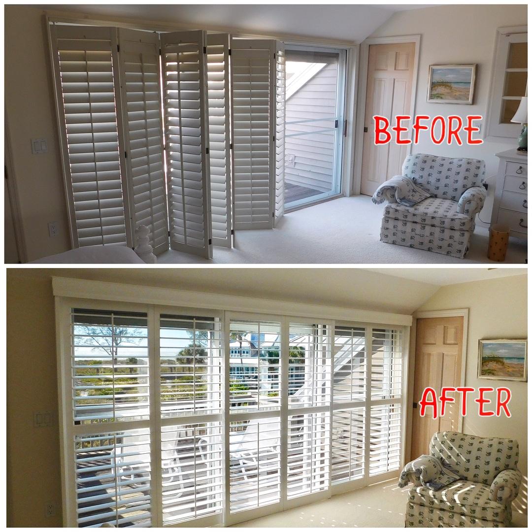 Window Treatments For Sliding Doors B G Window Fashions