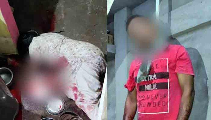 Breaking : पति ने पहले पत्नी का गला रेत के कर दी हत्या, फिर खुद लगाई फांसी