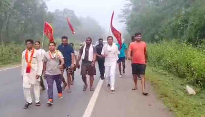 Video : पीसीसी चीफ मोहन मरकाम ने पदयात्रा से साधा निशाना, कहा-जनरल डायर…