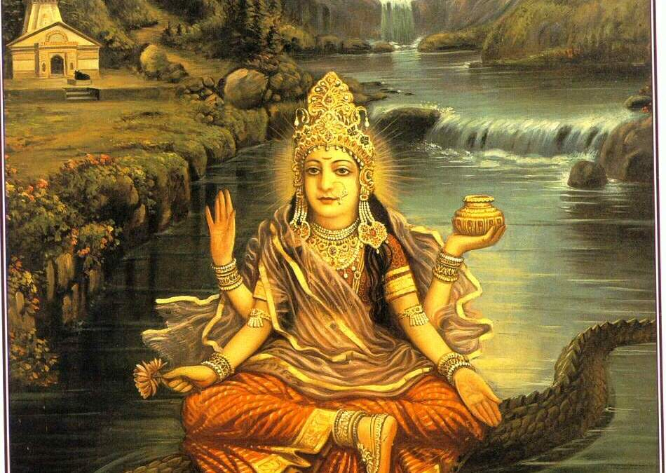 The Appearance Day of Sri Ganga-Devi