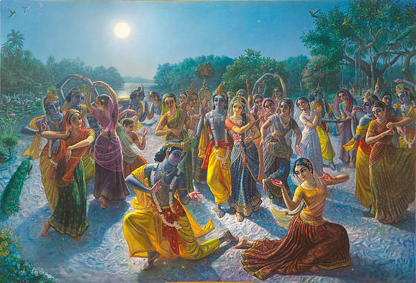 Krsna Defeated by the Gopis – Radlett, U.K. – 15 May 1996