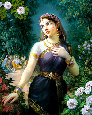 Radharani's Perfect Chastity and the Gopis' Candana Medicine