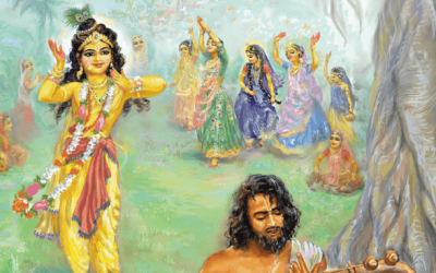 WHAT HAPPENS IF WE GET A SMALL RAY OF THE VRAJA DEVI'S AND MANJARI'S LOVE IN OUR HEART?
