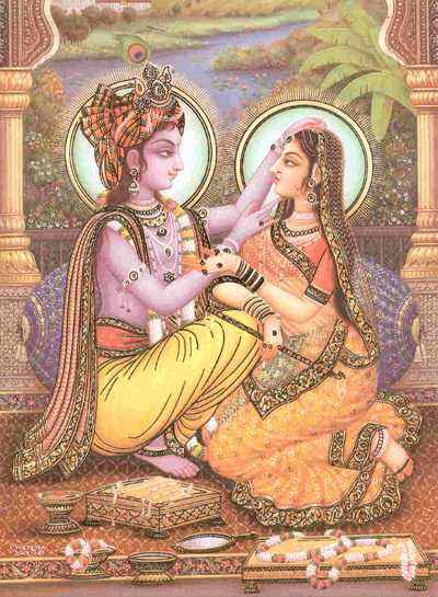 WHAT IS THE POTENCY OF RADHARANI'S FOOT DUST?