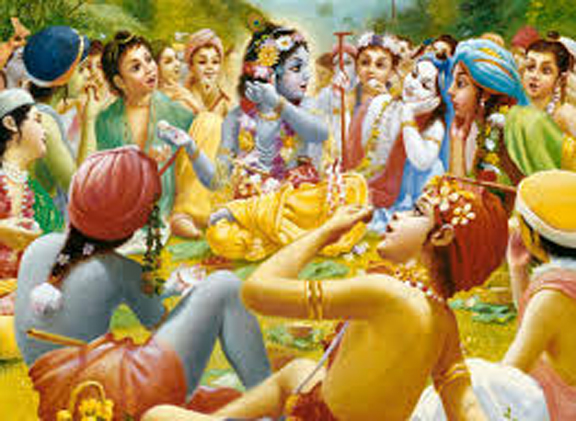 WHAT MAKES KRSNA'S FORM SO ATTRACTIVE?