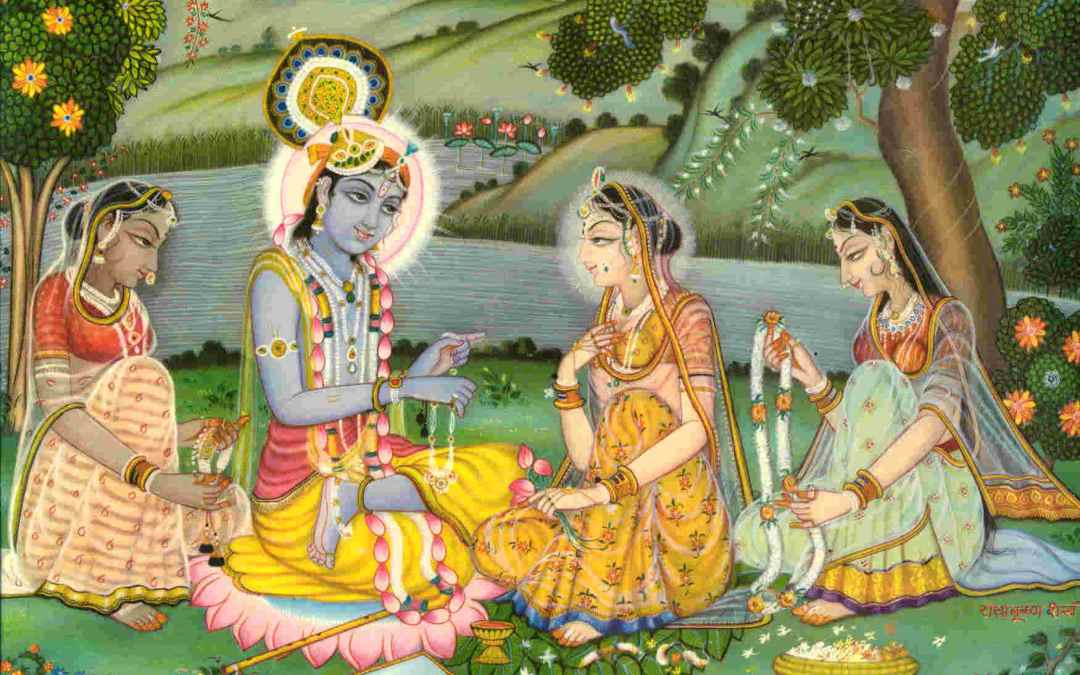 WHY DID KRSNA TEST AND TEASE THE GOPIS SEARCHING FOR HIM AFTER THE RASA DANCE?