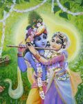 Choti Si Kishori Mere Angna Me Dole Re Krishna Bhajan Full Lyrics By Krishna Chandra Thakurji