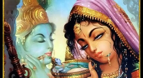 Kahe Teri Ankhiyo Mein Paani Krishna Deewani Beautiful Krishna Bhajan Full Lyrics