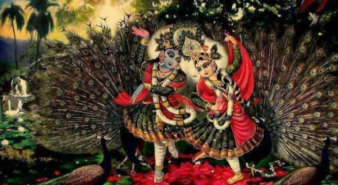 Radhe Radhe Gale Mann Best Krishna Bhajan Full Lyrics By Shri Anurag Krishna Shastri