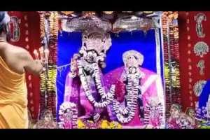 Sandhya Aarti Darshan    Shri Radha Shyamsunder Ji , Vrindavan