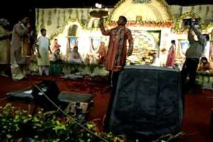 Maha-aarti at Shyam Mahakumbh Mela 2011