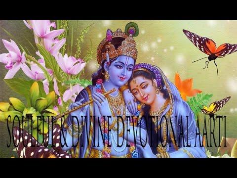Shree Krishna Aarti   Soulful & Divine Devotional Aarti   Aarti Kunj Bihari Ki