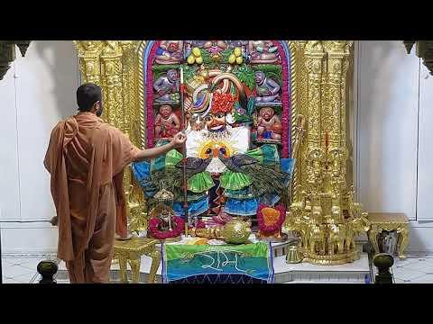 Sandhya Aarti Darshan Salangpur Date : 13-07-2021