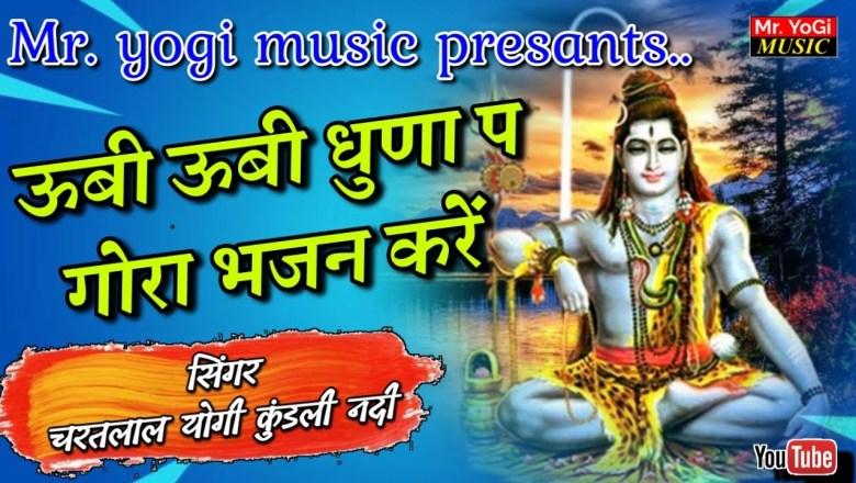 शिव जी भजन लिरिक्स – Shiv Bhajan | उबी उबी धुना प गोरा भजन करे | गायक – चरतलाल योगी कुंडली नदी | BY MR. YOGI MUSIC