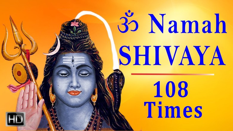 Om Namah Shivaya (108 times) – Powerful & Divine Chanting – Peaceful Shiva Mantra