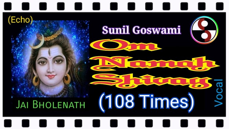 Om Namah Shivay – 108 times. (English – Hindi)