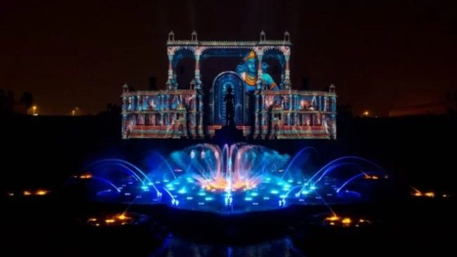 Musical Fountains - Akshardham