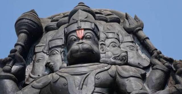 The Five-faced Hanuman Temple Rameswaram