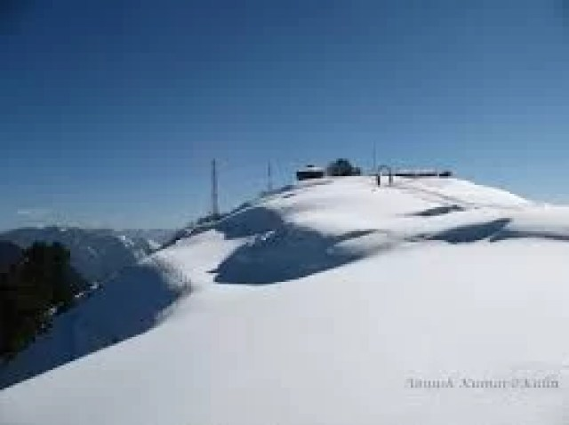 Snow Fall Around Bijli Mahadev in Kullu