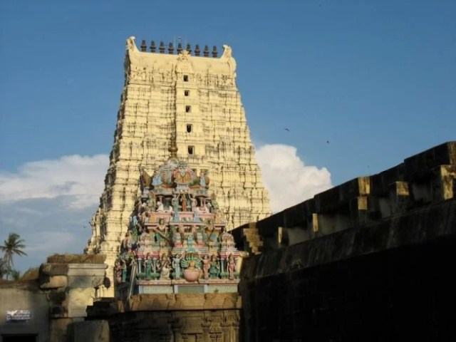 Lord Shiva Temple in south India