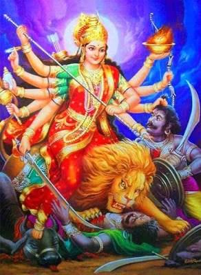 Shri Mahishasura Mardini Stotram