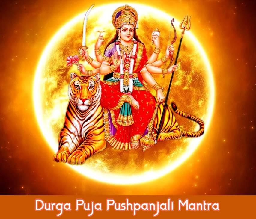 Durga Puja Pushpanjali