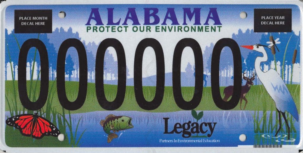 Alabama Car Tags >> So That S Where The Protect Our Environment Car Tag Money Goes